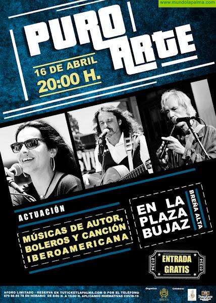 Breña Alta acoge el concierto 'Músicas de Autor, Boleros y Canción Iberoaméricana' dentro de su ciclo cultural 'Puro Arte'