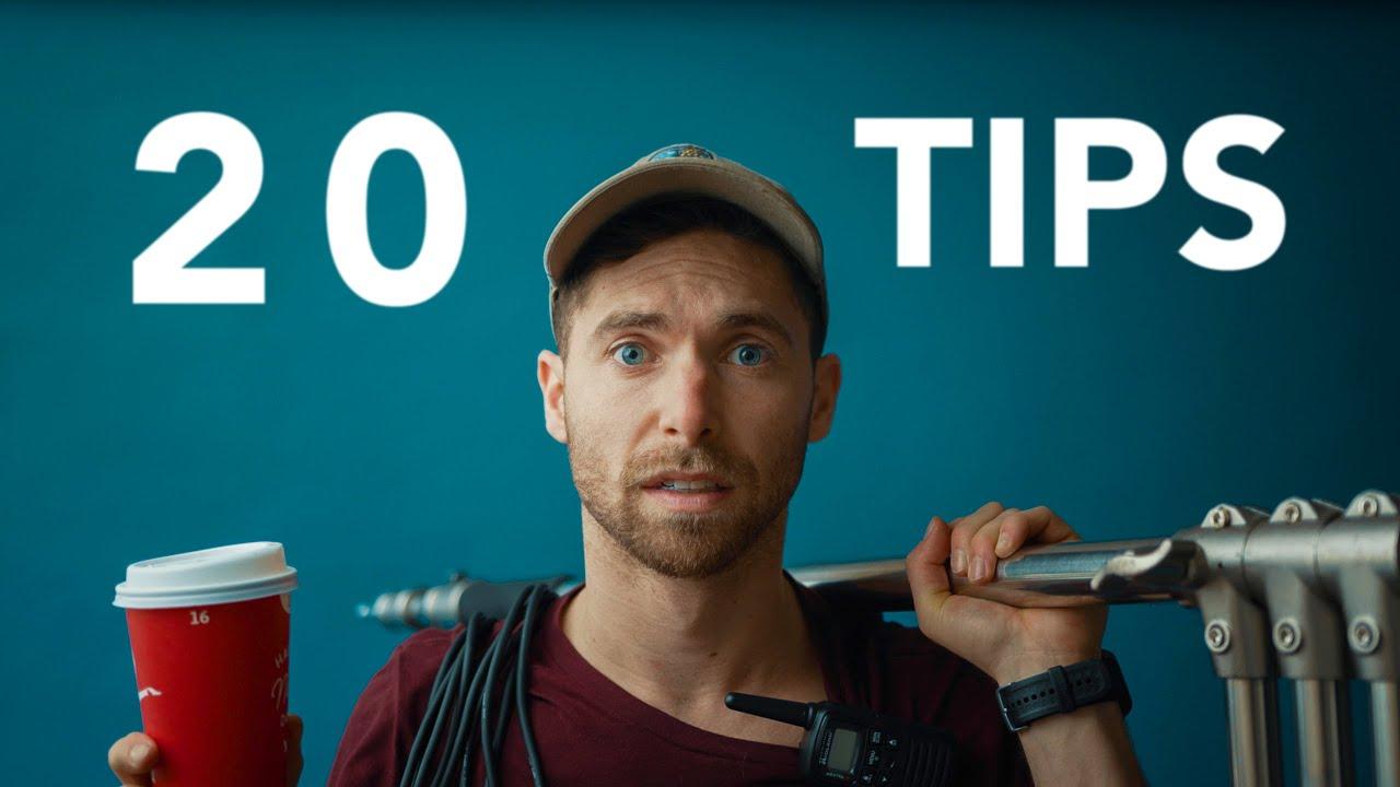 20 Tips Before You Step onto a Film Set!