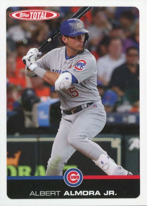Wrigley Wax 2019 Topps Total Wave 4 Cubs