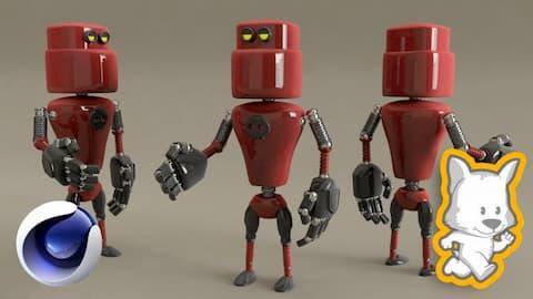 كورس نمذجة روبوت ثري دي في برنامج سينما فوردي