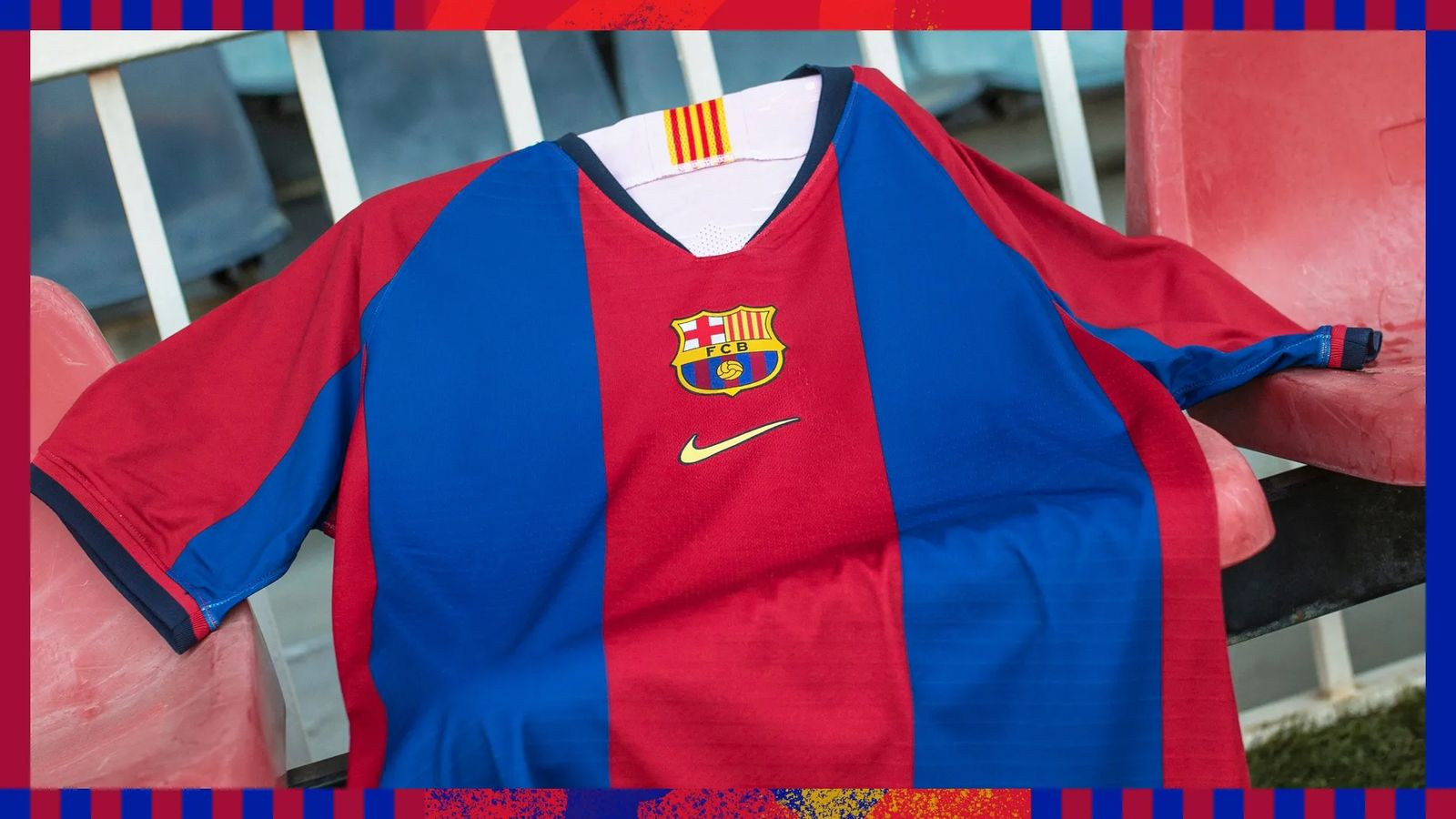 a6b257430c5 Update  The Nike Barcelona  98 remake shirt is now available to buy.