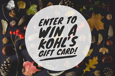 Enter the November $200 Kohl's Giveaway. Ends 12/7 Open WW