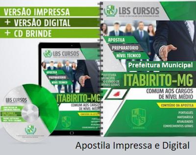 Apostila Impressa e Digital para Concurso Público.