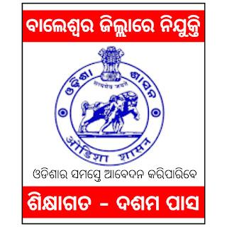 Baleswor Recruitment,Odisha Security Job 2021