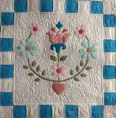 Eirwen's Tilda Cabbage Rose Quilt