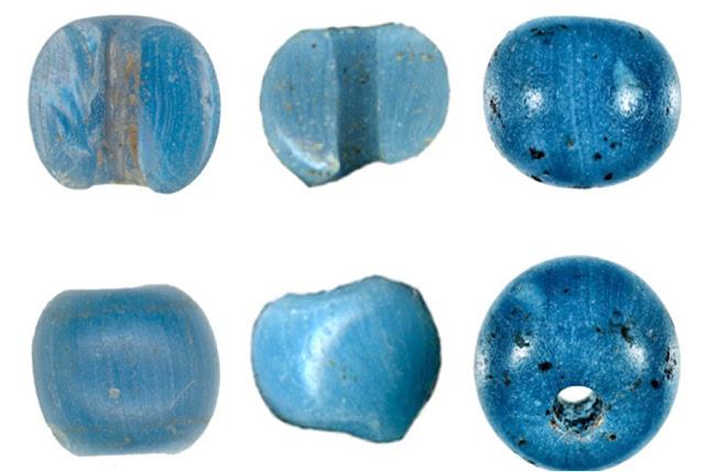 Precolumbian Venetian glass trade beads found in Arctic Alaska