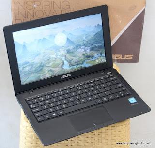 Jual Laptop 2nd ASUS X200M 11.6-Inch Fullset Bekas Banyuwangi