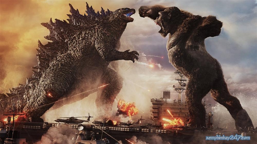 http://xemphimhay247.com - Xem phim hay 247 - Godzilla Đại Chiến Kong (2021) - Godzilla Vs. Kong (2021)