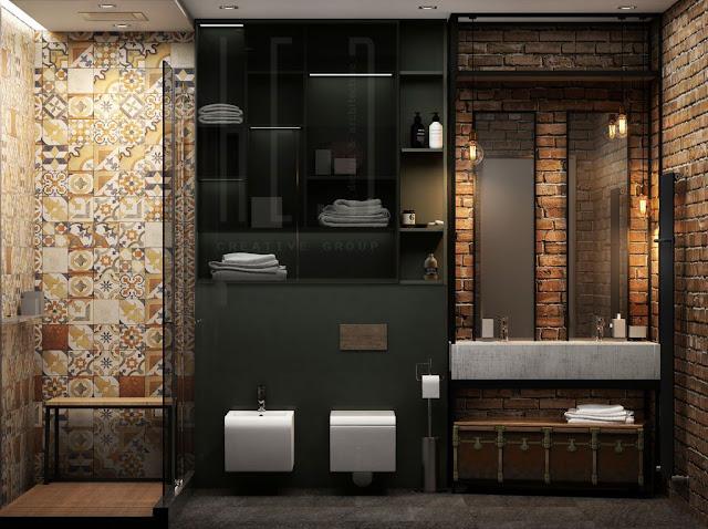 Interior Design Of Bathroom
