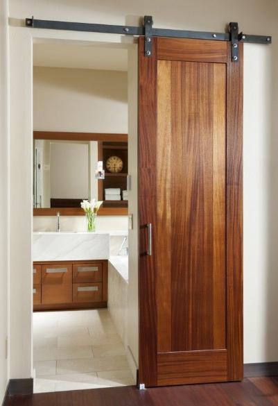 Small Bathroom: Luxury Small Bathroom Door Ideas