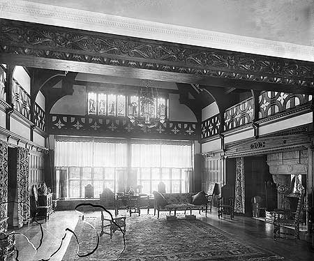 Bidston Court, Vyner Road, Bidston, Birkenhead  Photograph by H Bedford Lemere taken July 1894  Reproduced by permission of Historic England Reference Number: BL12842