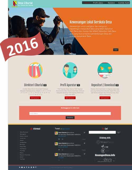 website-desa-ciburial-tampilan-2016