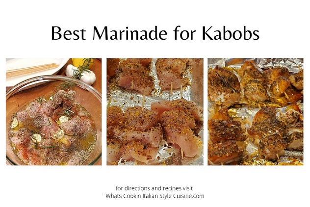 this is how to make the best marinade in photos step by step for meats and salmon skewers