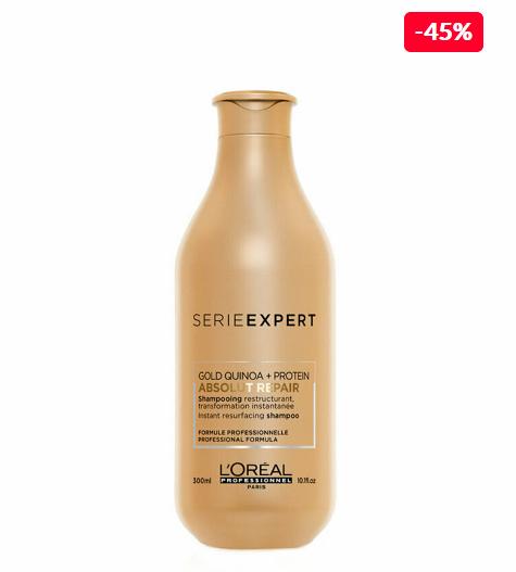 L'Oréal Professionnel Sampon profesional pentru par foarte deteriorat L'Oréal Professionnel Serie Expert Absolut Repair, 300 ml