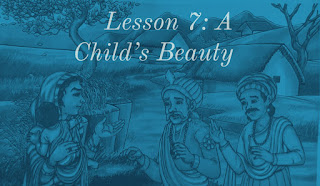Lesson 7 | A Child's Beauty Questions Answers | Class 7 | English