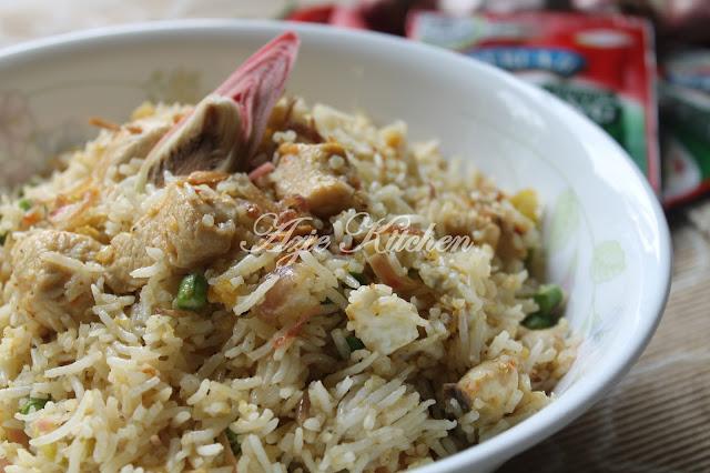Nasi Goreng Kampung Bunga Kantan Sedap Dengan SERI-AJI