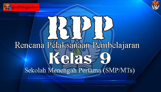 RPP Prakarya SMP Kelas 9