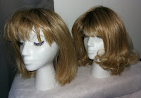 Shannon A1136 Golden Wheat 14/88A#8 rooted blonde bob