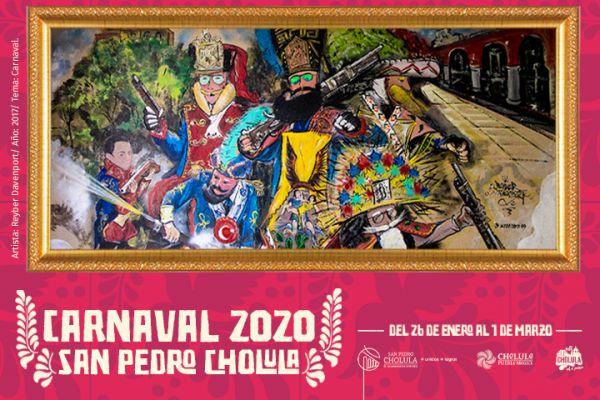 Carnaval en Cholula