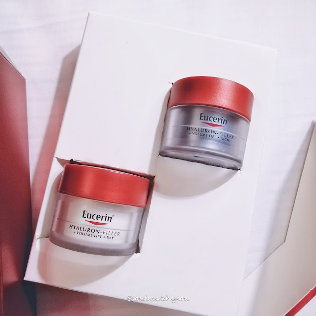 Review; Eucerin Hyaluron Filler Volume-Lift Day & Night Cream Starter Kit