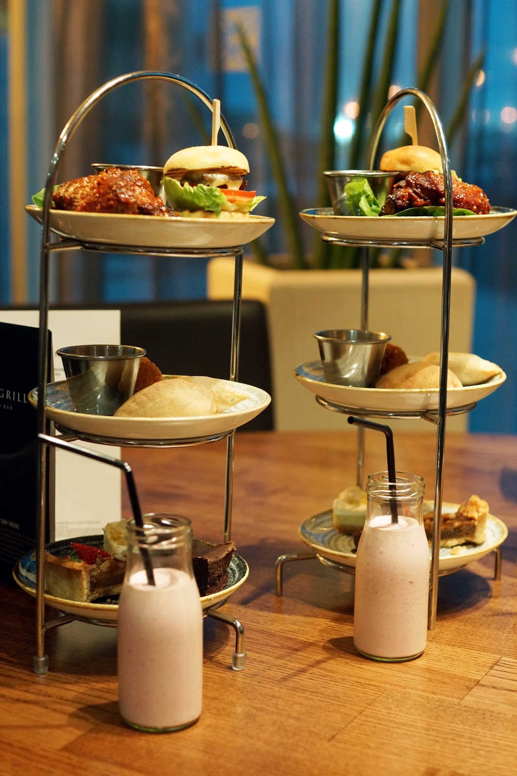 Hello Freckles Afternoon Tea American Sliders Calzone Hilton Garden Inn Sunderland Food Review