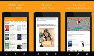 aplikasi baca novel gratis wattpad