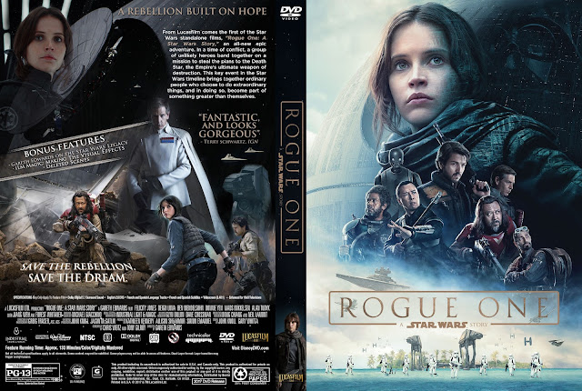 Capa DVD Rogue One A Star Wars Story