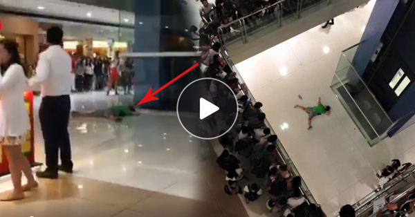 Truth Behind The Woman Who Fell In SM Megamall On Valentineu0027s Day Exposed!