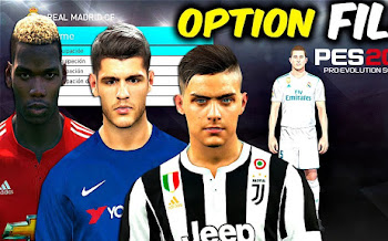 Super Option File   PES2018   Pc / Ps4   Released [18.09.2017]