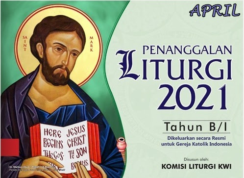 Kalender Liturgi April 2021 Tahun B 1 I H S