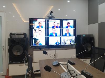 Lắp đặt bộ thiết bị hội nghị truyền hình AVer SVC500