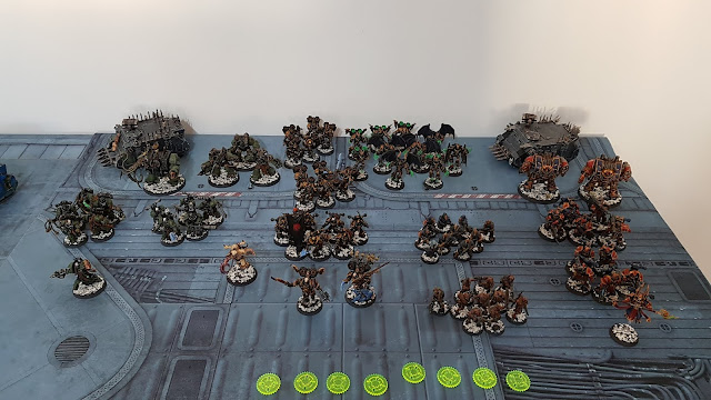 Featured in Winters SEO Deployment Zone battle report: Chaos Space Marines vs The Thirteenth 2500 points Contact Lost.