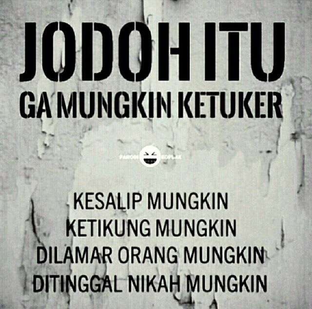 Image result for jodoh?