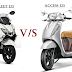 Comparison between Suzuki Burgman street 125 and Suzuki Access 125
