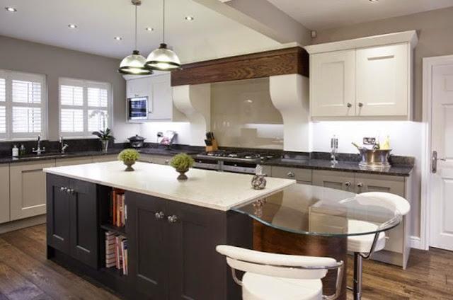 30 modelos de mesas y barras para cocinas de todos los estilos cocinas con estilo ideas para - Barras de cocinas modernas ...