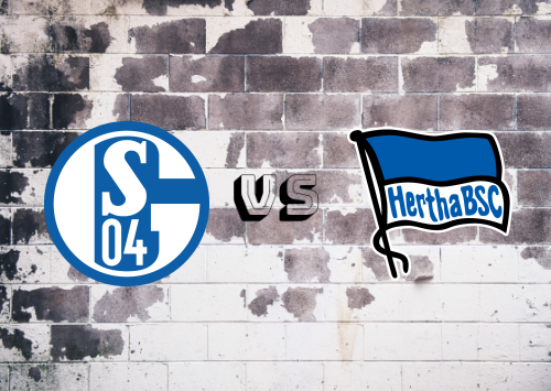 Schalke 04 vs Hertha BSC  Resumen