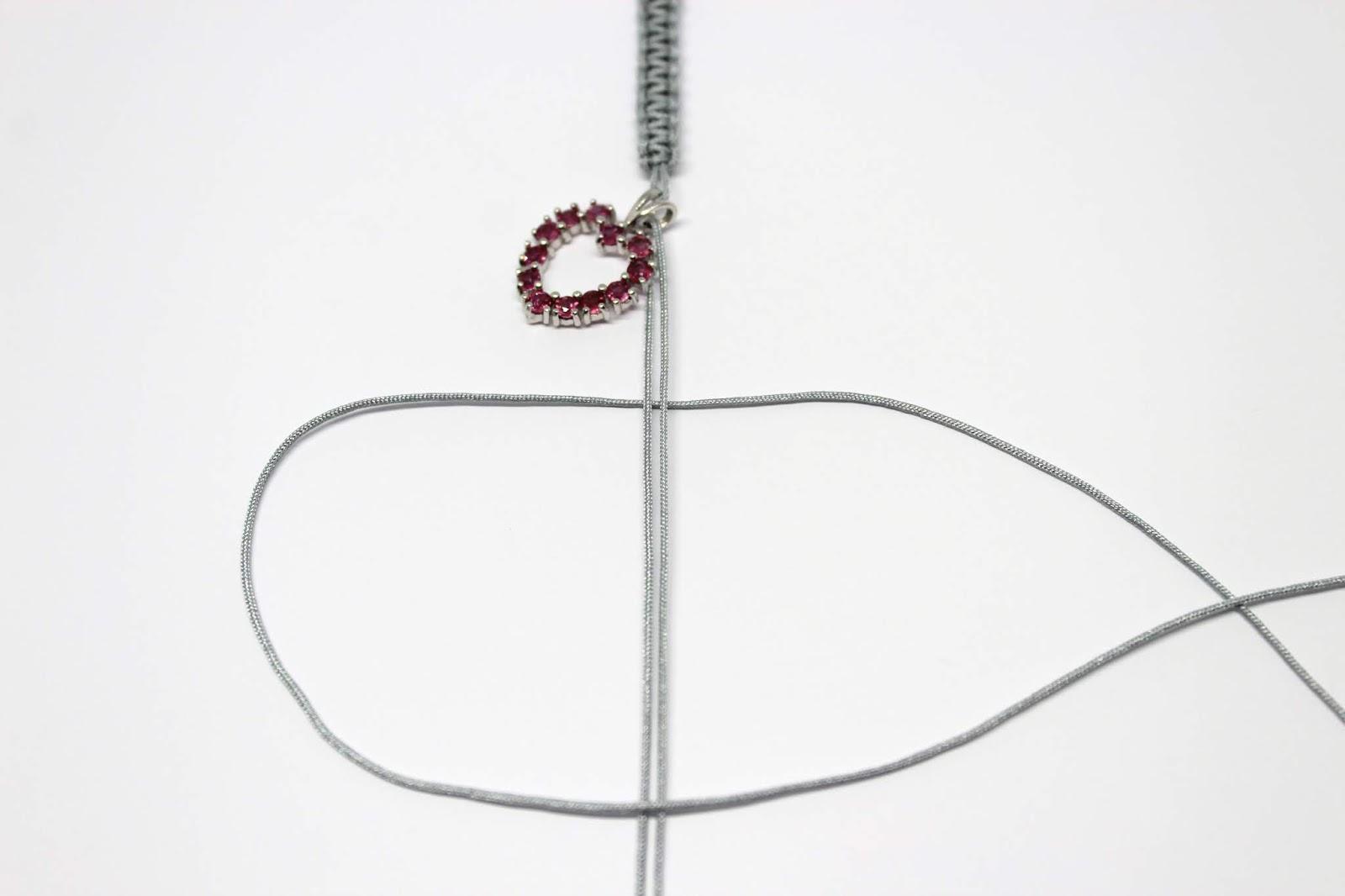 DIY Makramee Halskette ganz einfach selbermachen mit Stoneberry