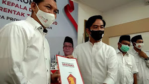 Prabowo Teken Dukungan Gerindra untuk Gibran Jadi Wali Kota Solo