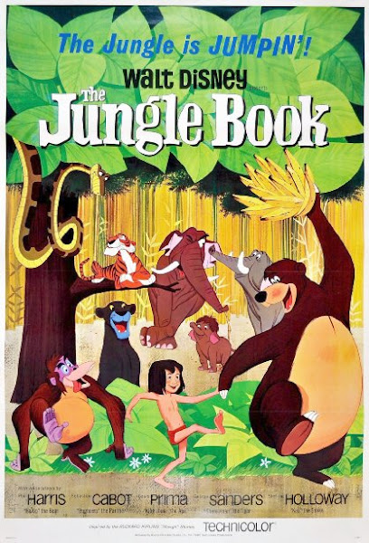 Poster Of The Jungle Book 1967 720p Hindi BRRip Dual Audio Full Movie Download