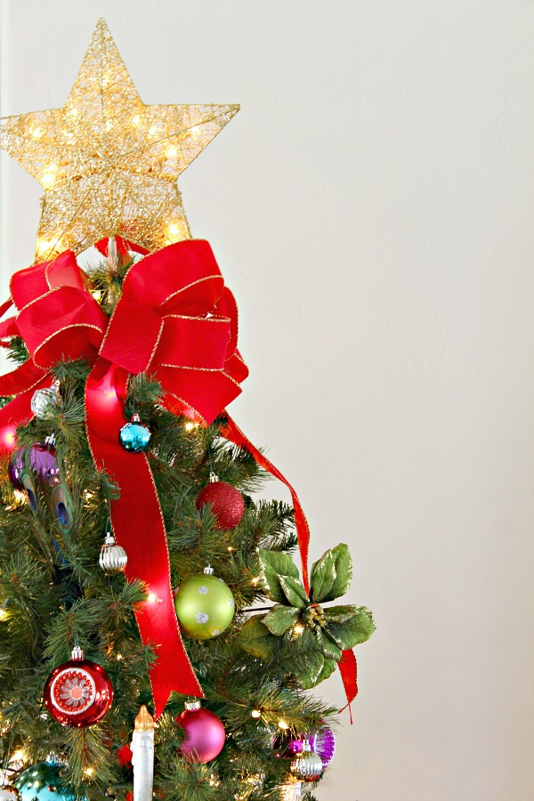 JEWEL TONE CHRISTMAS TREE DECORATIONS - Dimples and Tangles