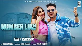 Number Likh Lyrics - Tony Kakkar | Nikki Tamboli | New Hindi Song 2021