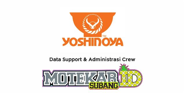 Lowongan Kerja Yoshinoya Februari 2021 - Motekar Subang