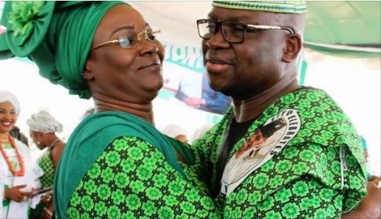 EFCC Begins Investigation Of Governor Fayose, Wife And Top Aides
