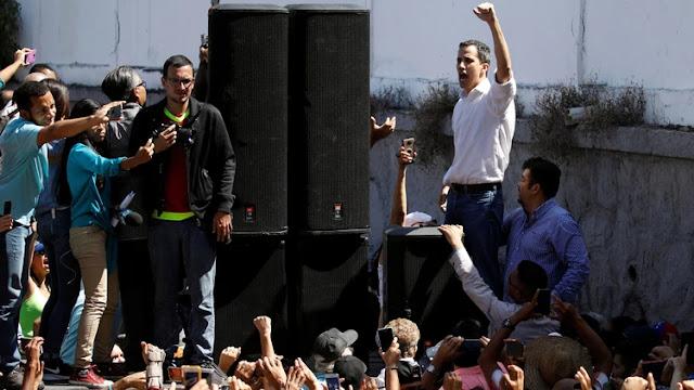 """EEUU respaldó a la Asamblea Nacional como """"la única entidad democrática"""" de Venezuela."""