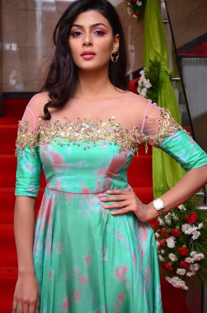 Anisha Ambrose Stills At F Salon Launch In Hyderabad
