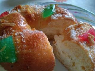 ROSCÓN DE REYES. Dulce típico de Navidad en España