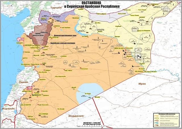 بالصور: تهريب النفط السوري إلى دول أخرى تحت حماية عسكرية أمريكية