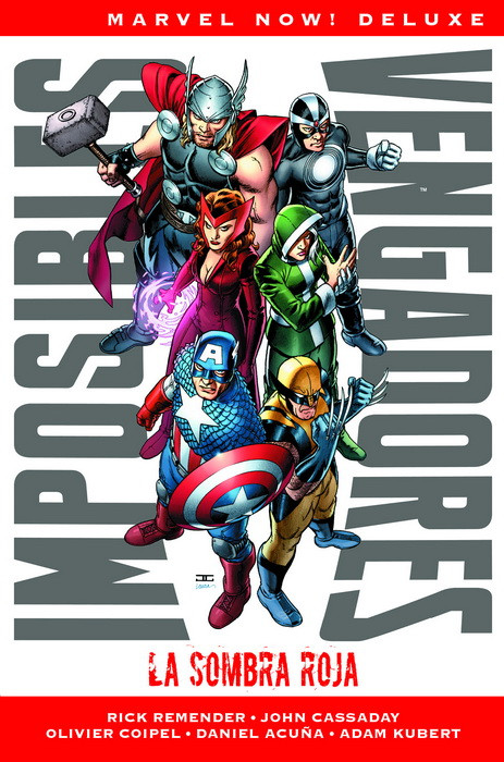 "Reseña de ""Marvel Now! Deluxe. Imposibles Vengadores"" vol.1 - Panini Cómics"