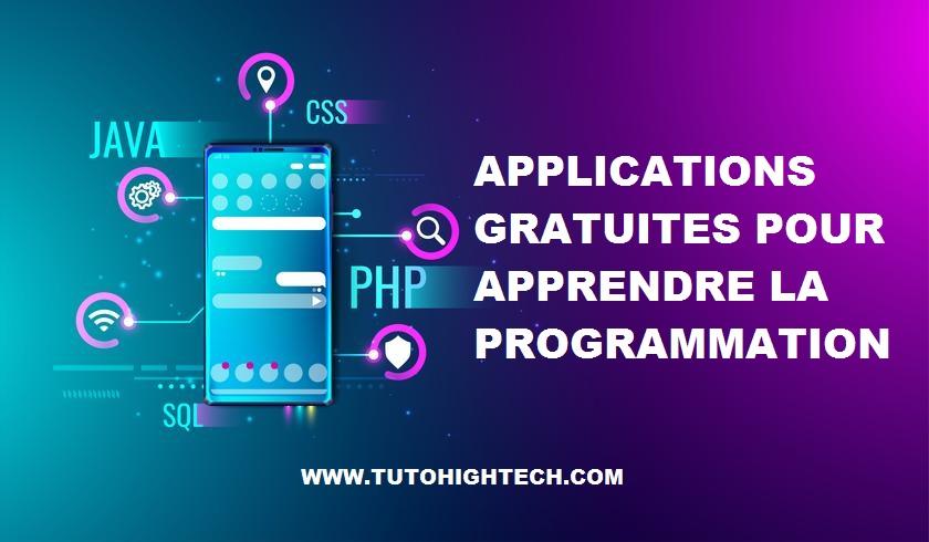 Application pour apprendre la programmation
