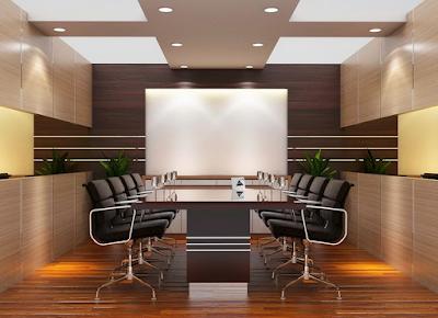 Desain Interior Ruang Meeting Kantor Modern